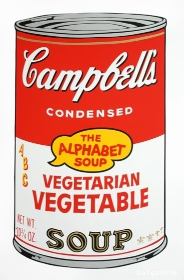 WARHOL Andy - Campbells soup - Vegetarian vegetable