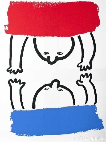 HARING Keith - The story of Red and Blue 15