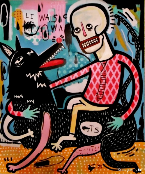 JOACHIM - Riding a black dog