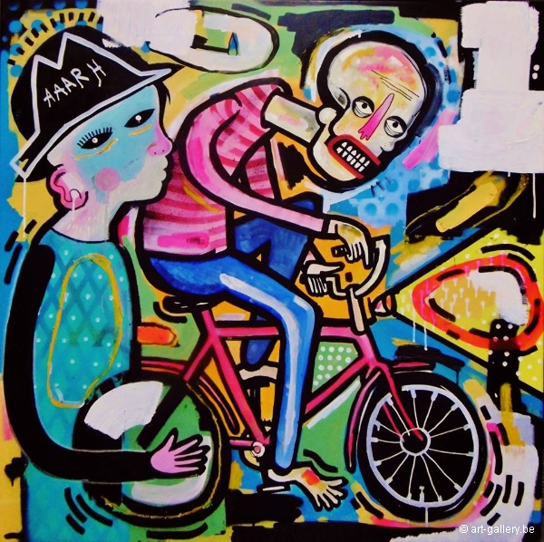JOACHIM - The Cyclist (and the child with the hat)