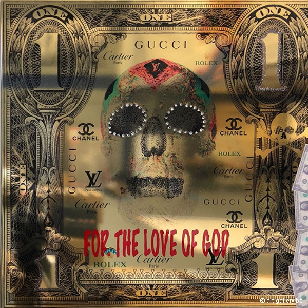 VAN APPLE Diederik - For the love of god gold