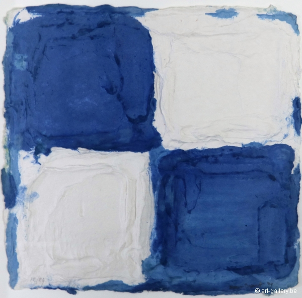 BOGART Bram - Blue - white