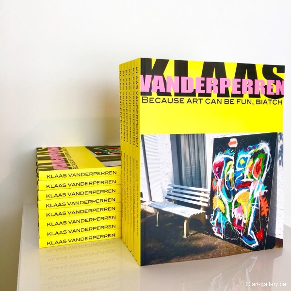 VANDERPERREN Klaas - Because art can be fun, biatch