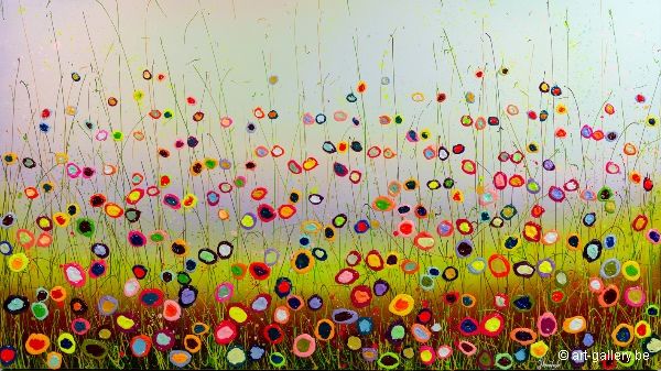 MURAVYEVA Yulia - Large flowerfield