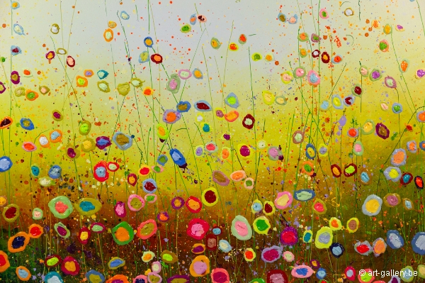 MURAVYEVA Yulia - Warm spring flowerfield