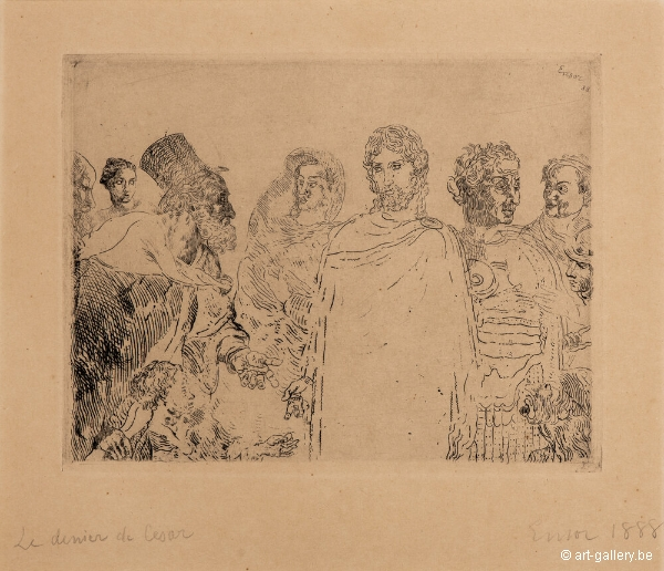ENSOR James - De zilverling van Caesar